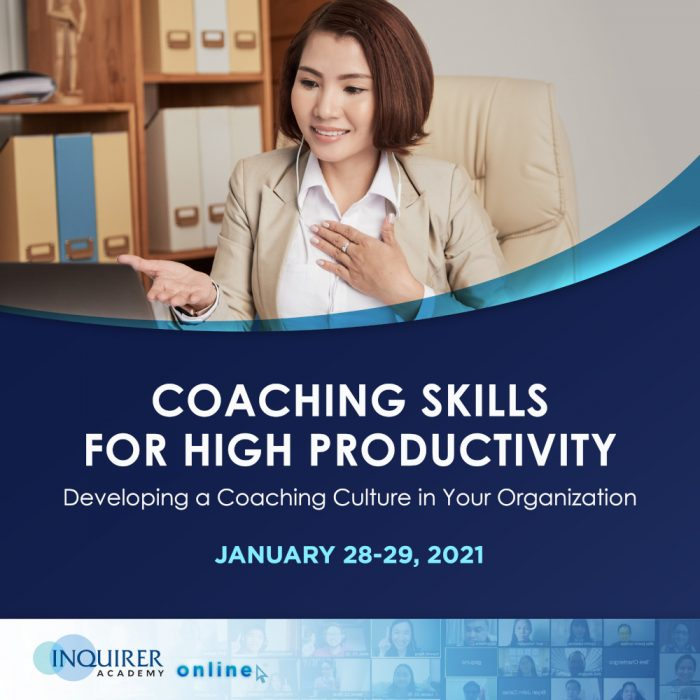 Coaching Skills for High Productivity