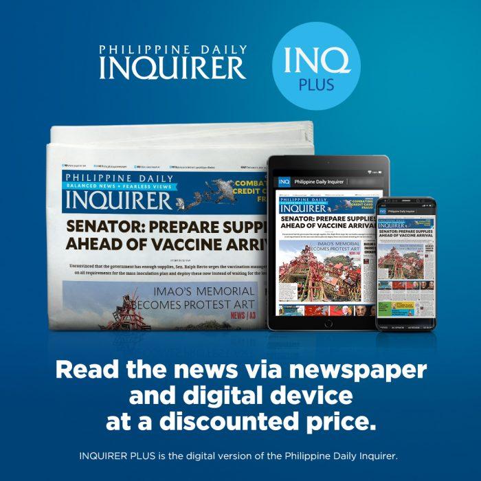 Inquirer Print Digital Bundle