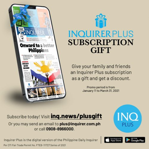 INQPLUS Gifting Promo