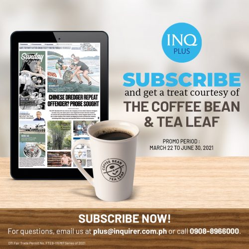 Inquirer Plus and CBTL Promo